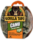 Gorilla Tape - Camo - One of the strongest Duct Tapes on the market!